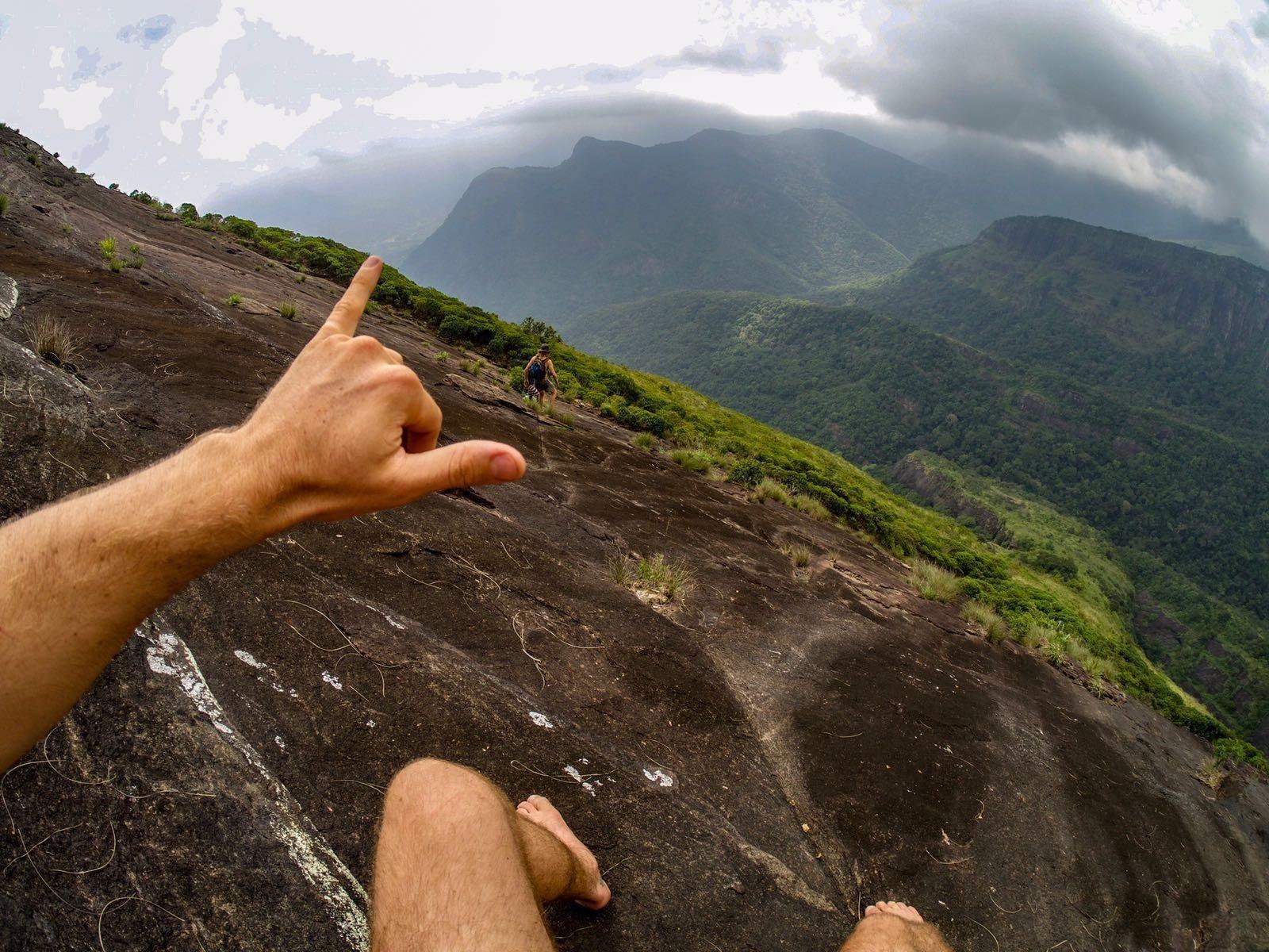 climbing lakegala sri lanka
