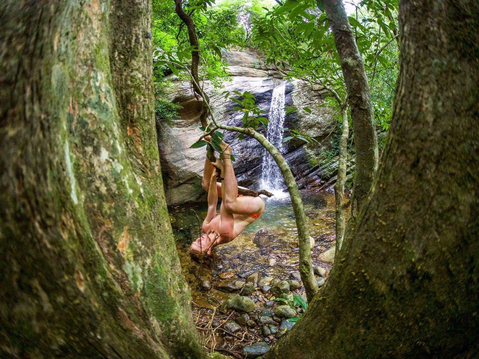 Meemure waterfall