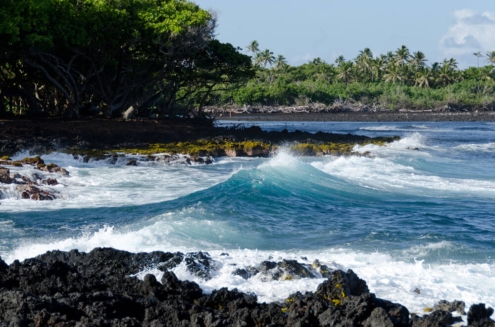 Isaac Hale Beach Park, Hawaii