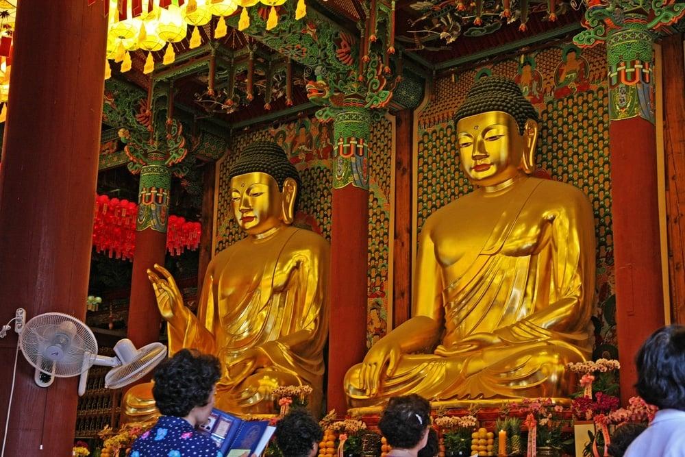 Jogyesa Korean Buddhist Temple in Seoul