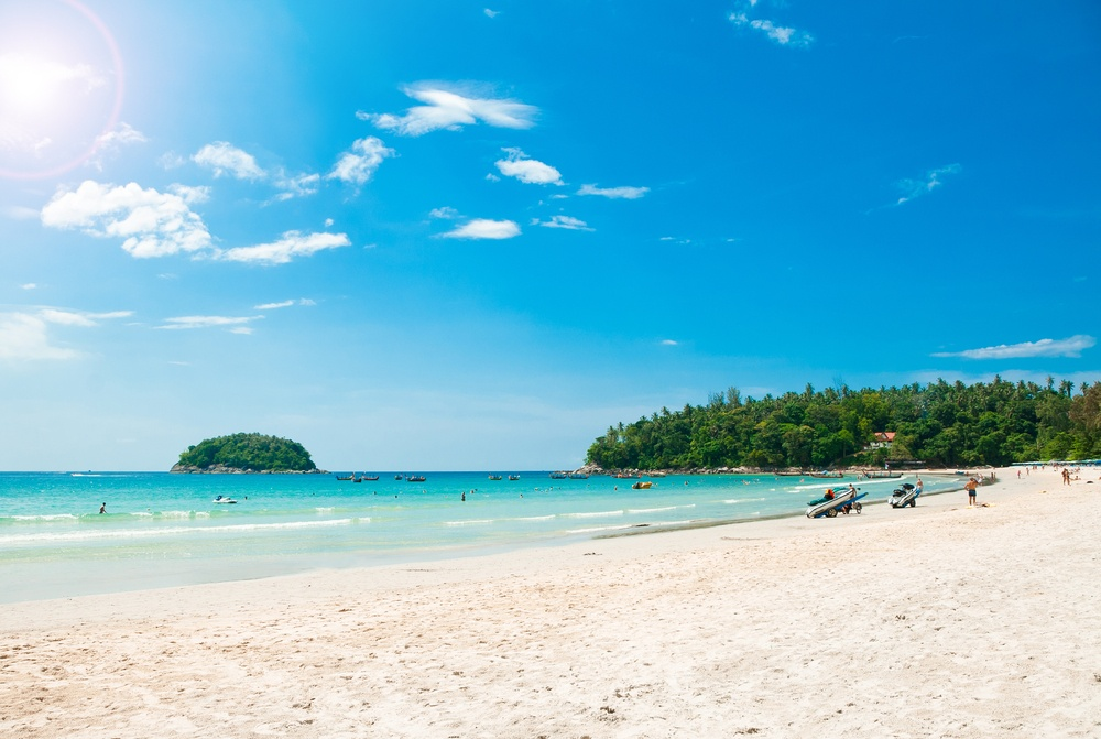 Karon Beach - beautiful and a top place to visit in Phuket