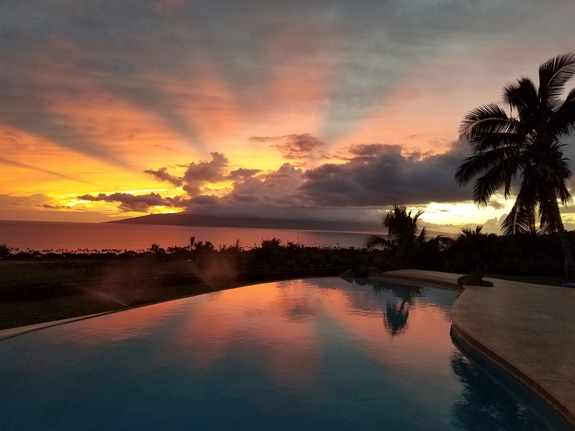 Sunset at Lahaina - Where to Stay in Maui for Your First Time