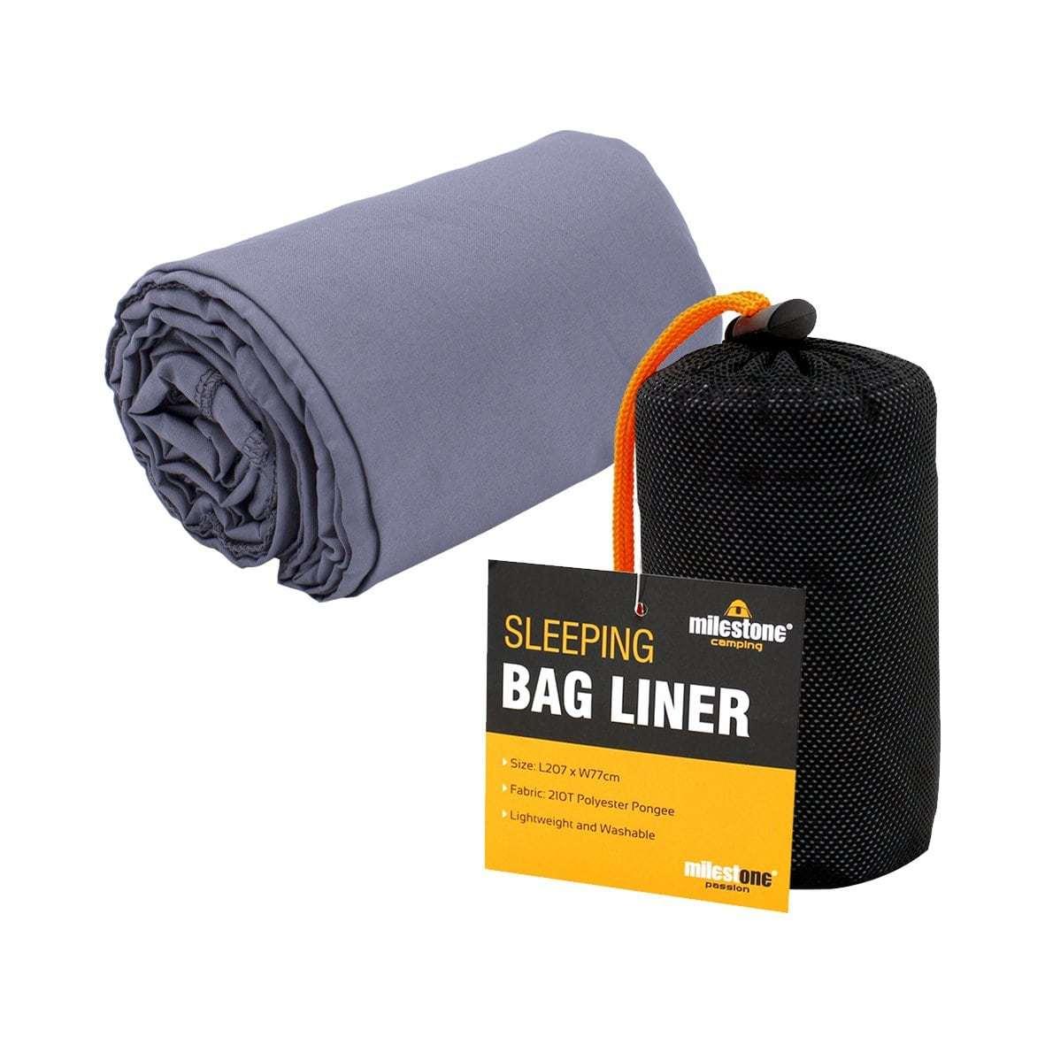 Milestone Camping Summer Sleeping Bag Liner