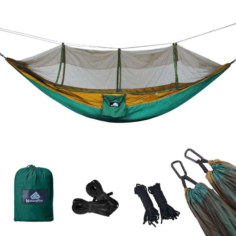 NatureFun Ultralight Travel Camping Hammock