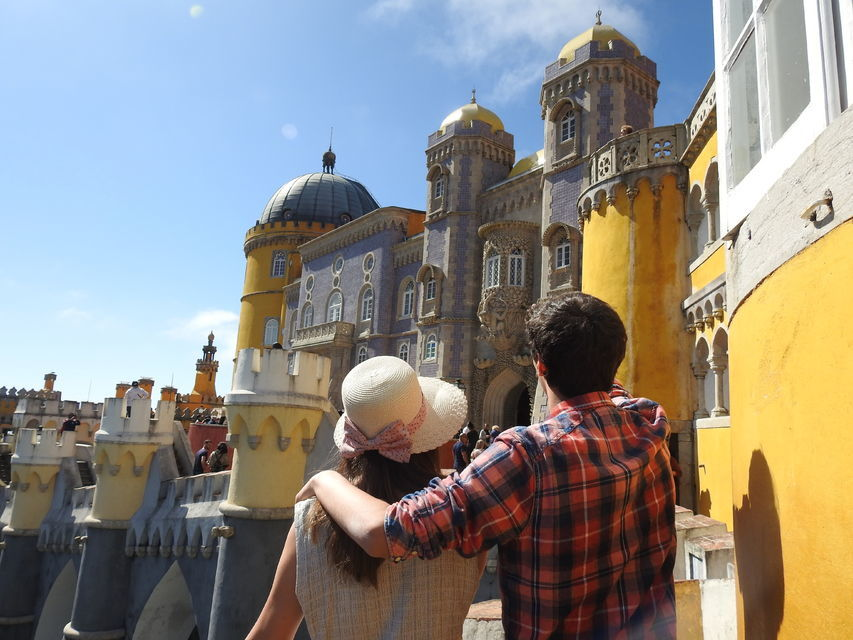Pena Palace, Cape Roca, and Cascais