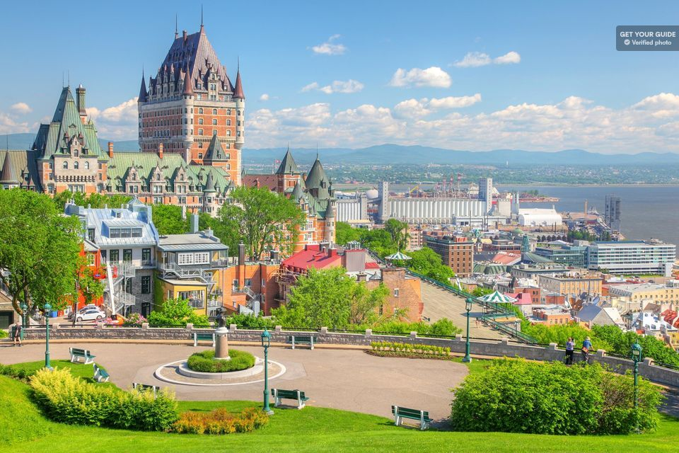 Quebec City & Montmorency Falls Full-Day Tour