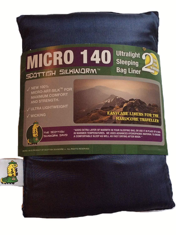 Scottish Silkworm Micro-Art Silk Sleeping Bag Liner