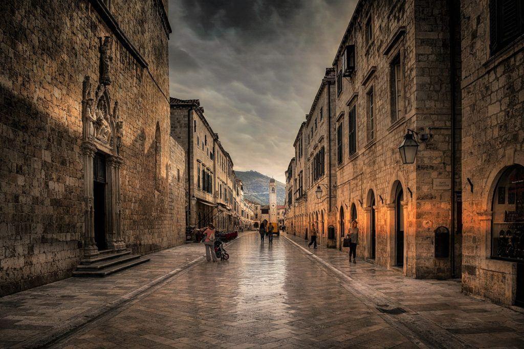 The Stradun Of Dubrovnik