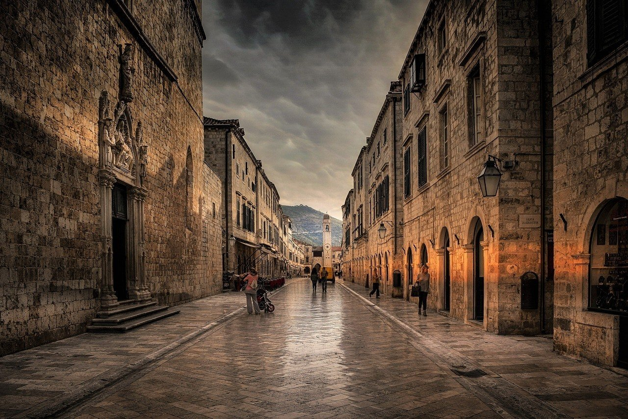 The Stradun Of Dubrovnik