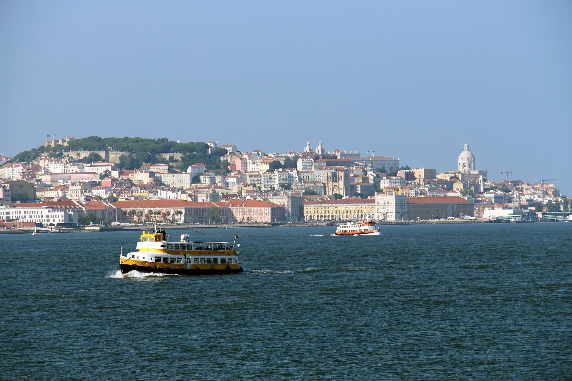 Tagus River Boat Cruise, Lisbon