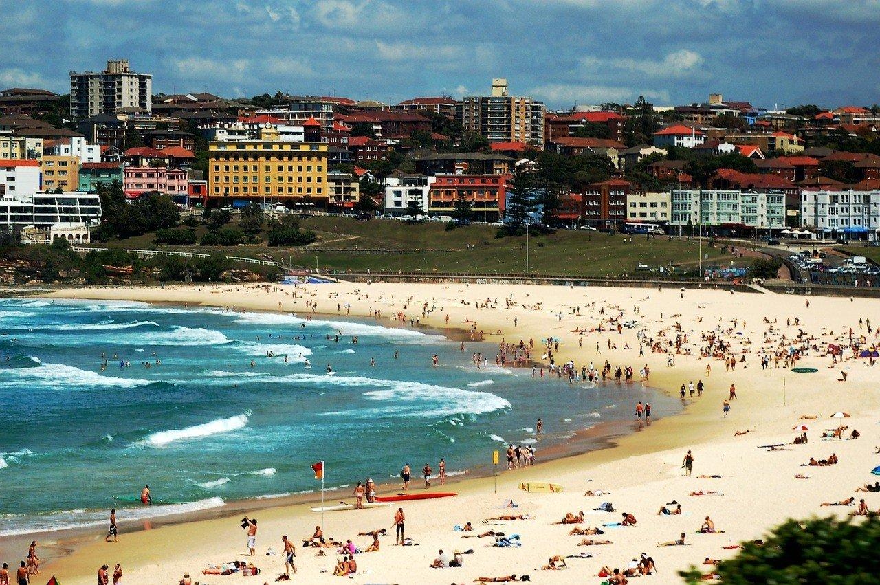 Take a Surfing Lesson at Bondi Beach