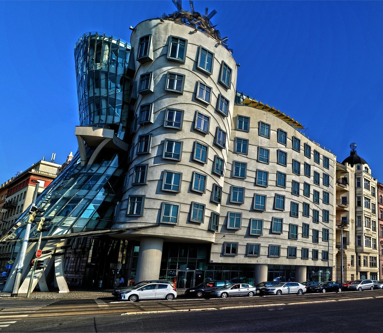 The Dancing House of Prague