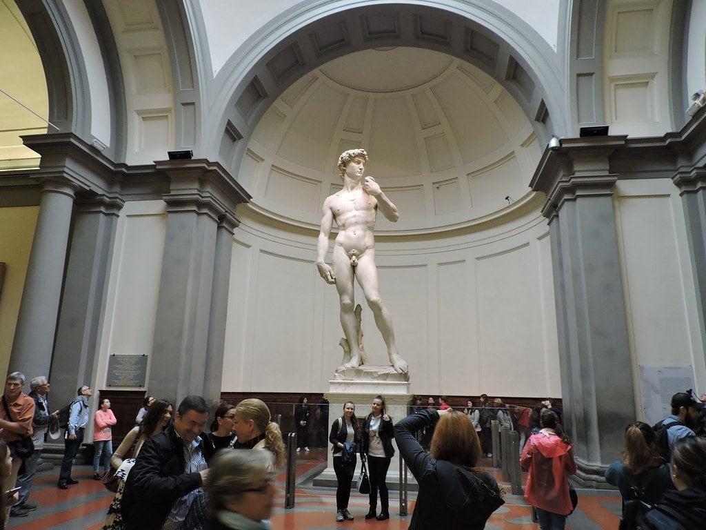 The Galleria dell'Accademia