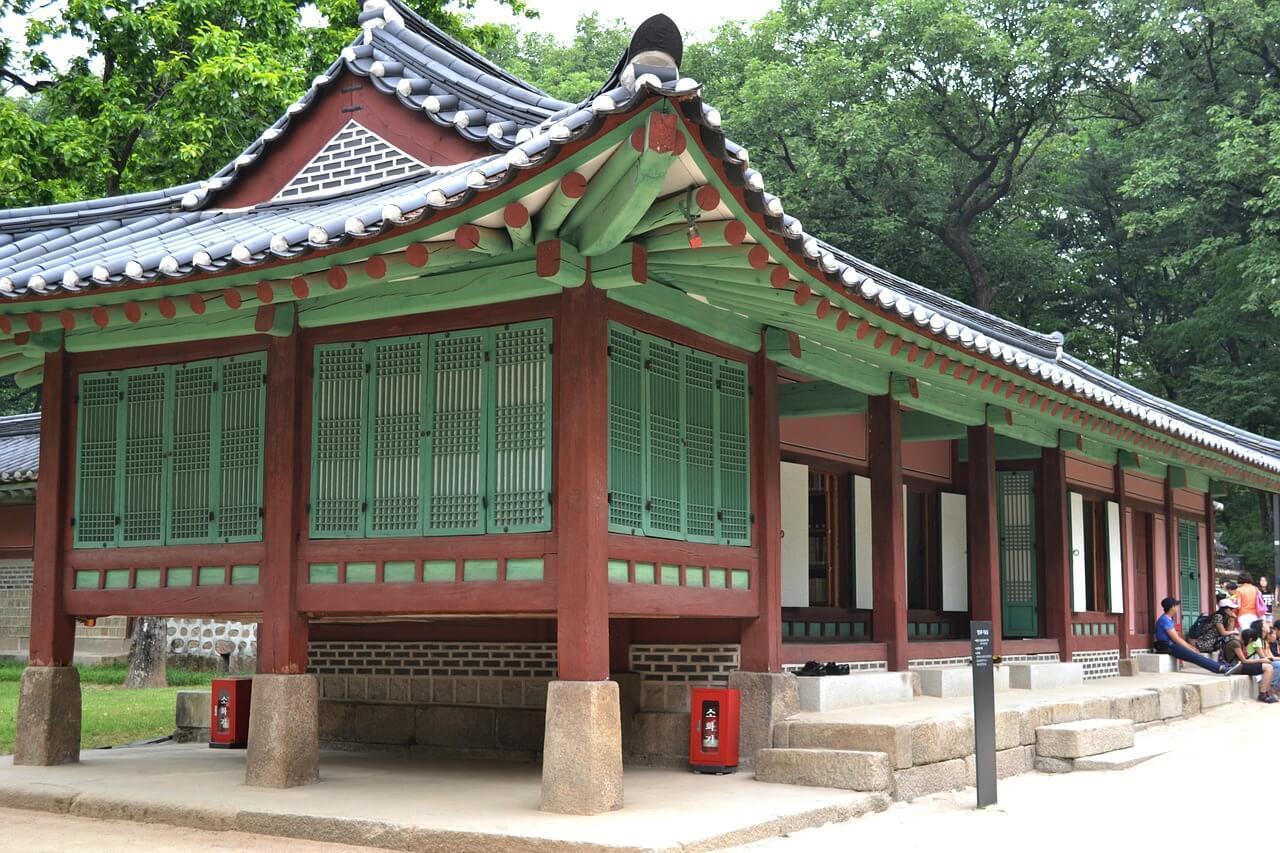 The Jongmyo Shrine in Seoul