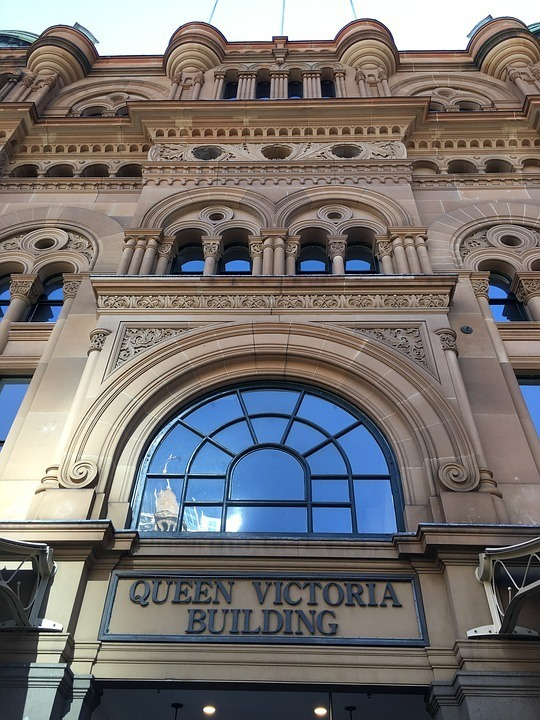 The Queen Victoria Building in Sydney's central area