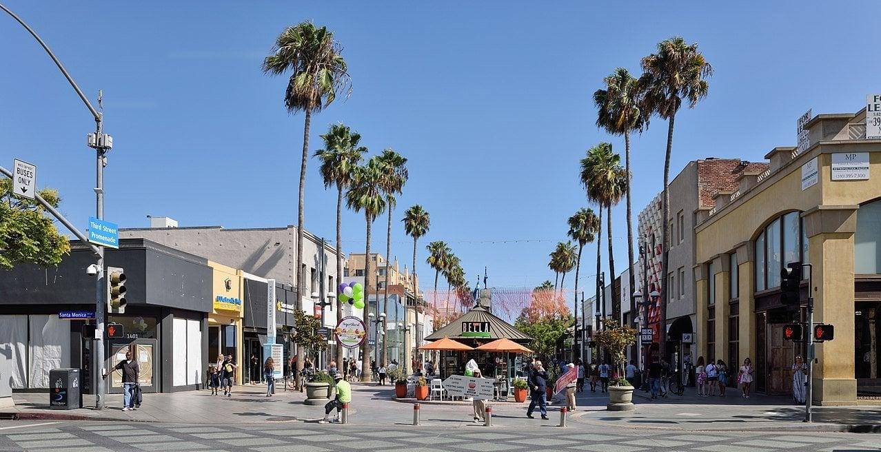 Third Street Promenade, Los Angeles