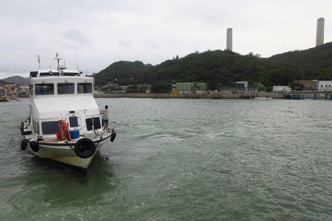 Ferry over to Lamma Island, Hong Kong