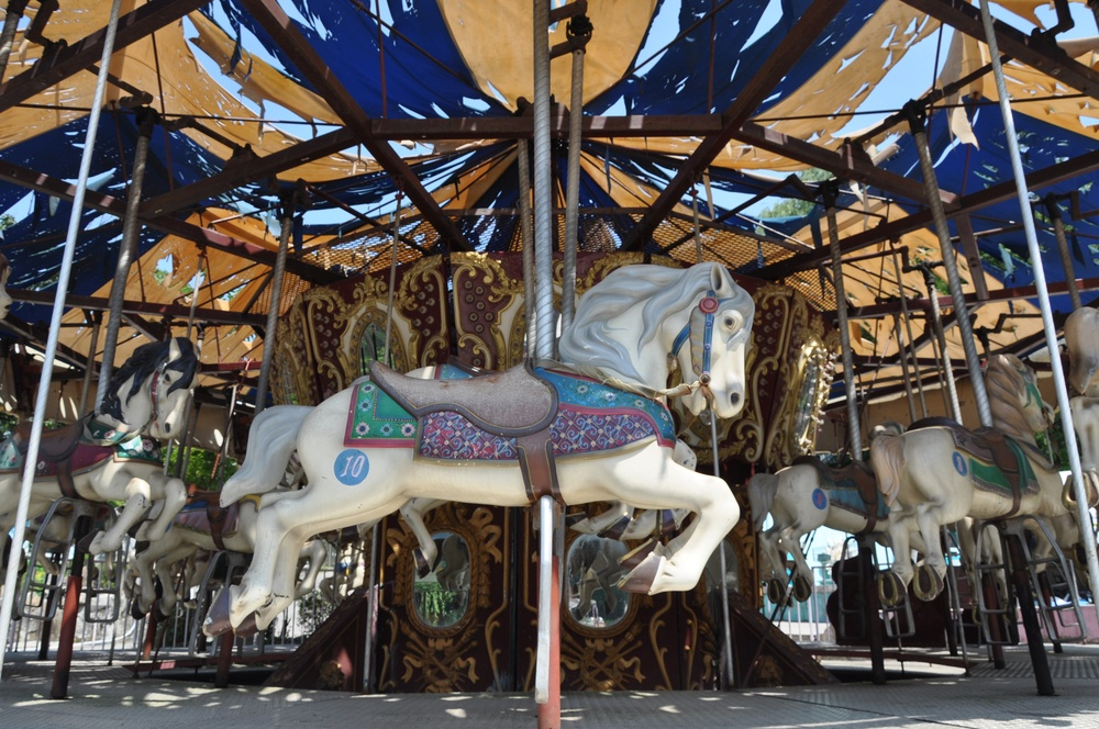 Yongma Land Abandoned Theme Park - a quirky attraction in Seoul
