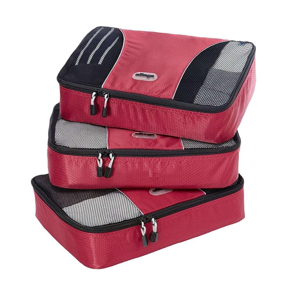 eBags medium packing cubes set