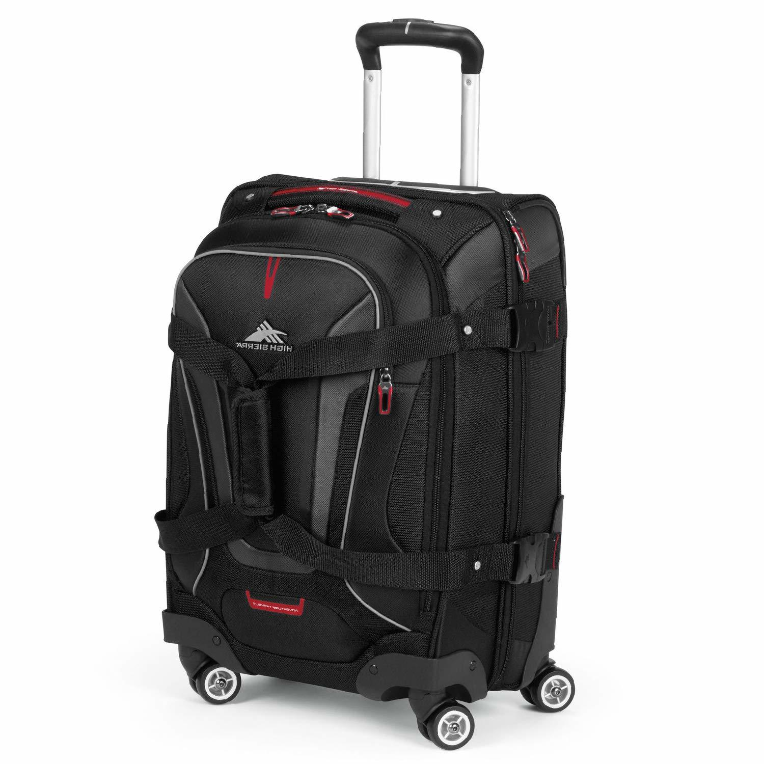 high sierra at7 spinner backpack with wheels