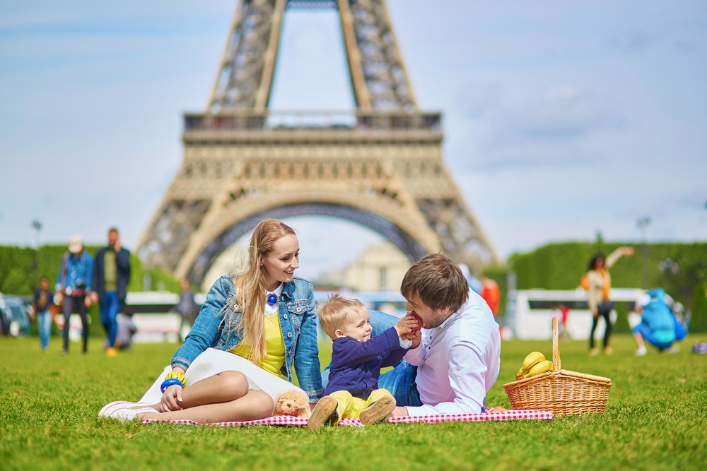 Travelling to Paris as a family