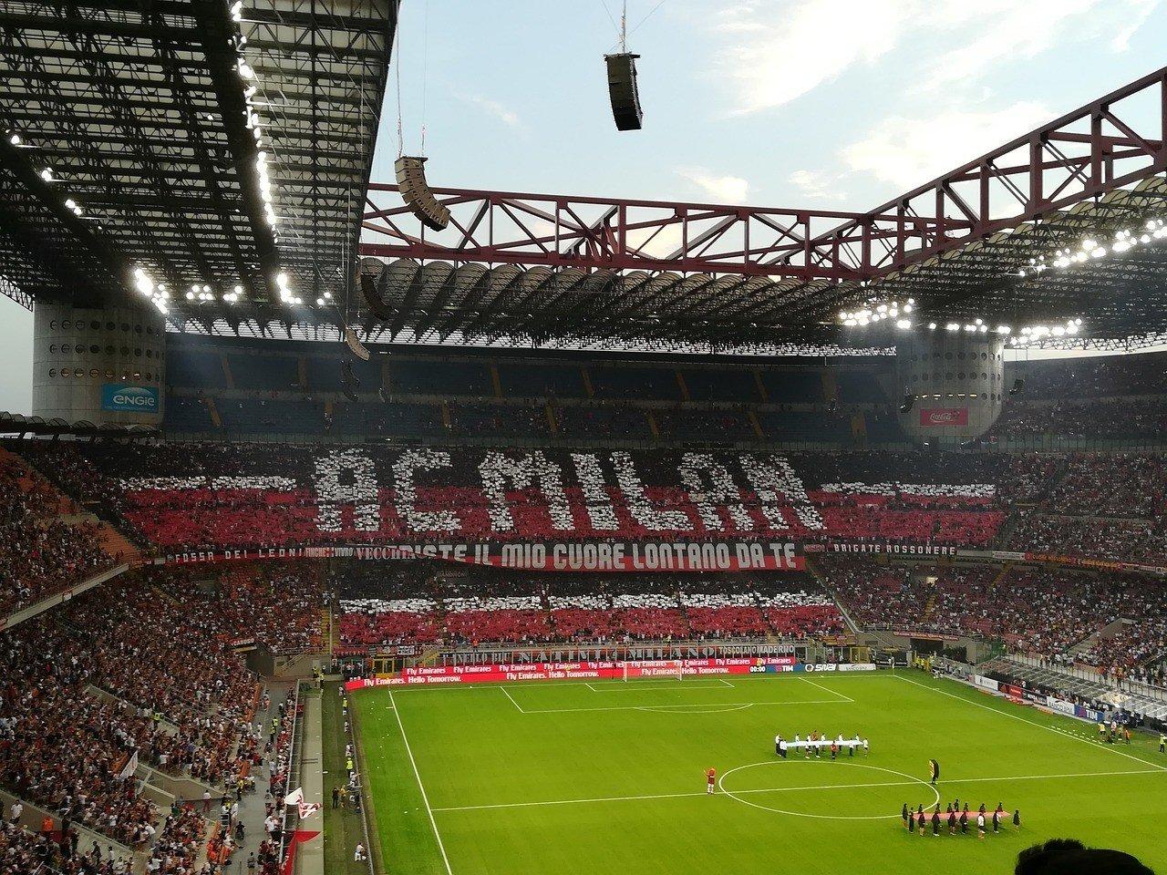 AC Milan San Siro Stadium milan