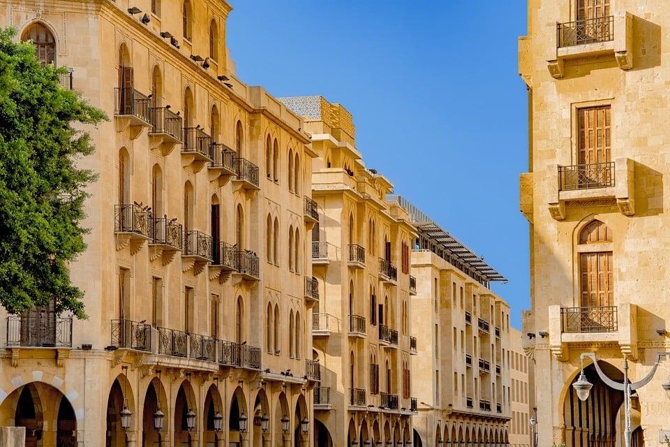 Beirut street Lebanon