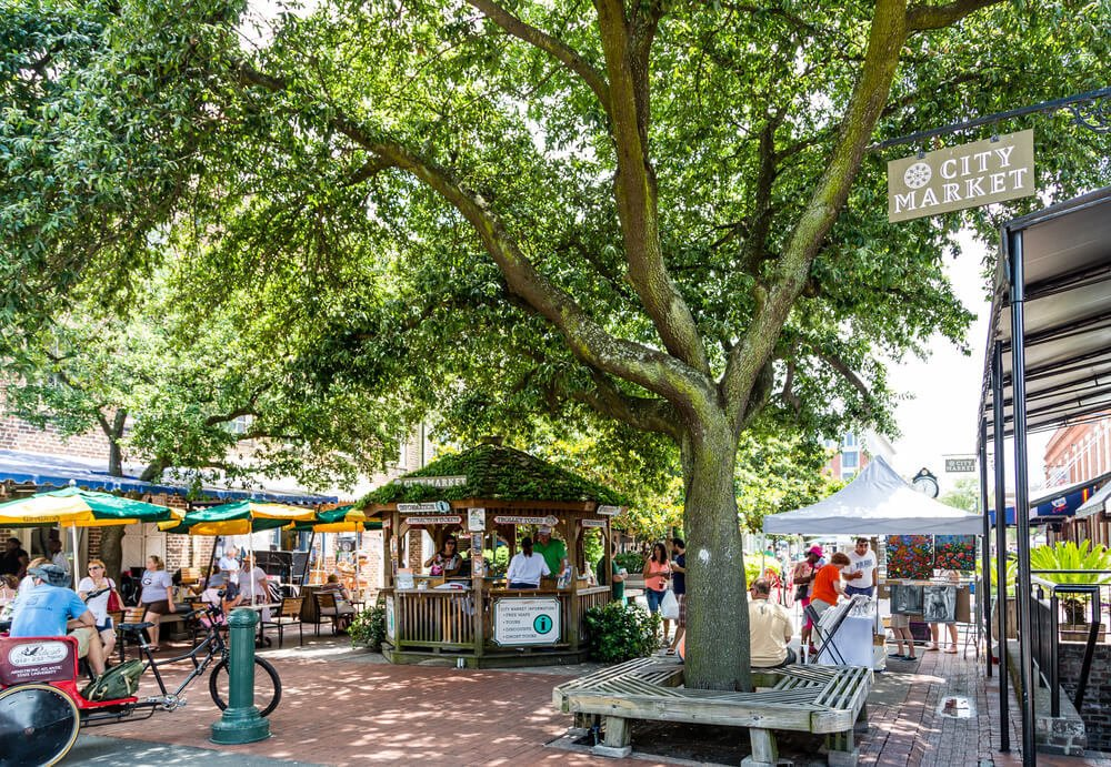 City Market, Savannah - Southern USA road trip