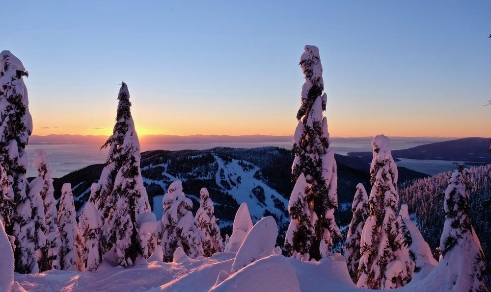 Cypress Mountain Ski Area Vancouver