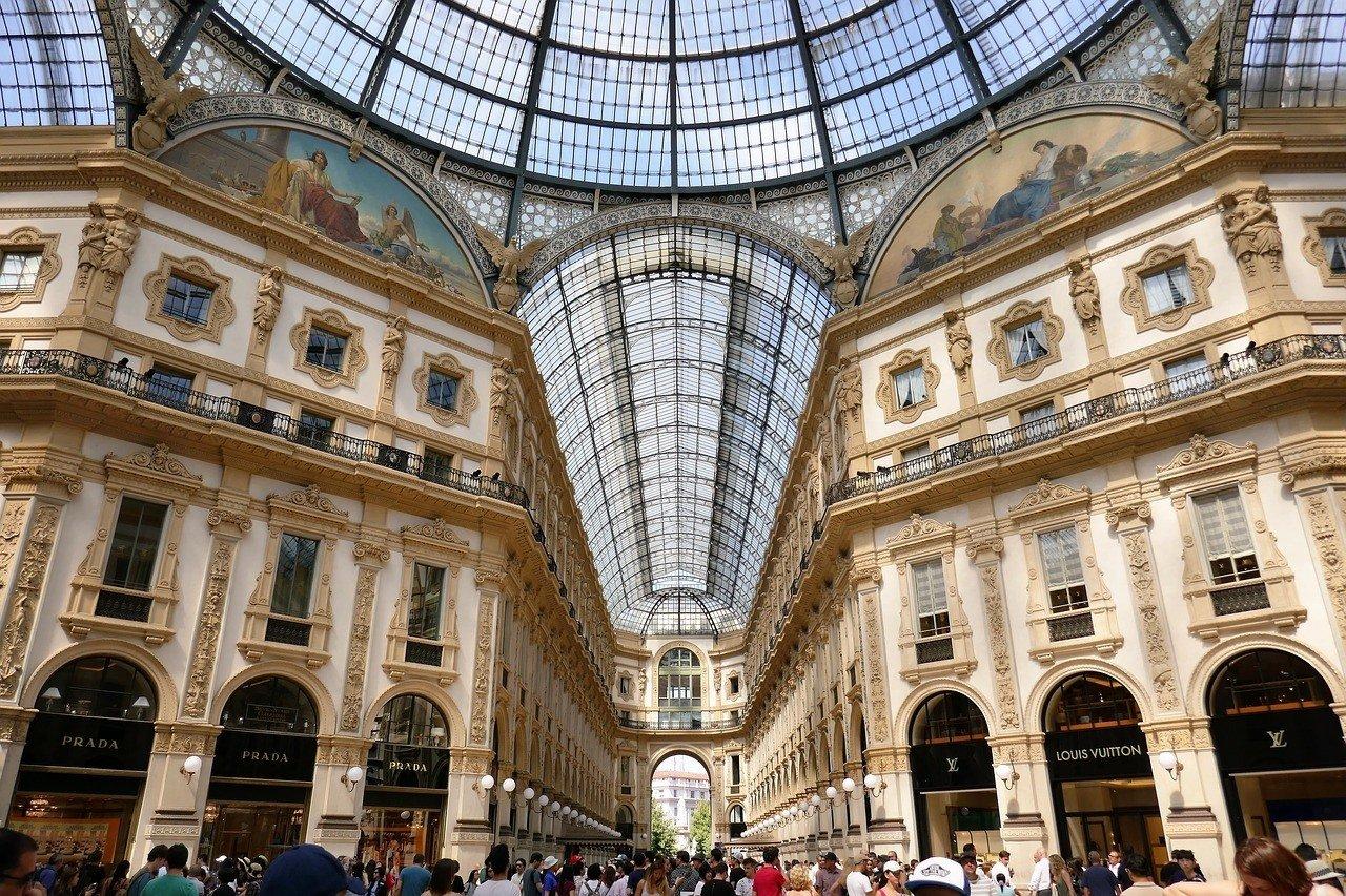 Grand Galleria Vittorio Emanuele II milan