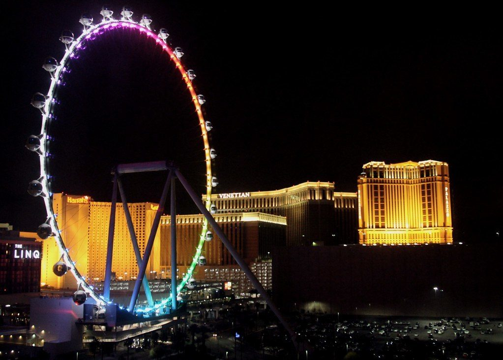 High Roller Observation Wheel at The LINQ