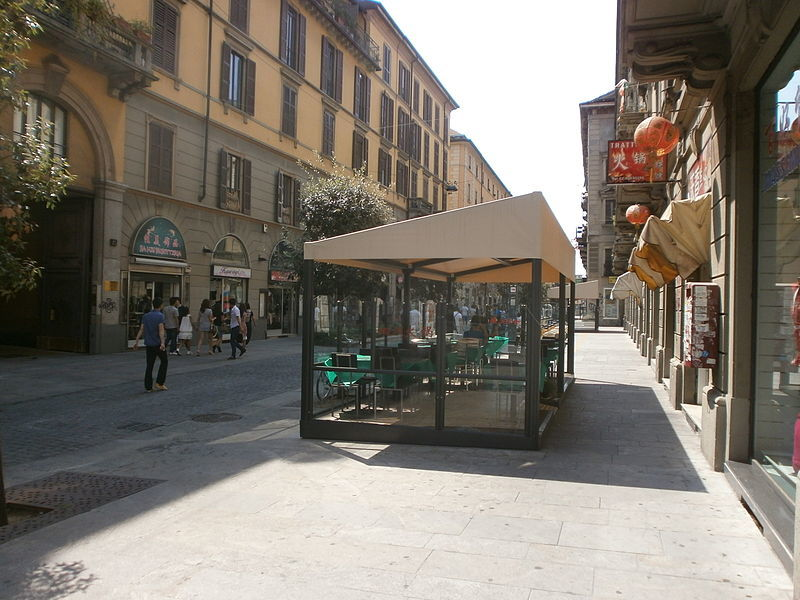 Milan Chinatown italy
