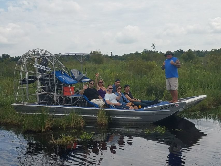 New Orleans Airboat Swamp Tour