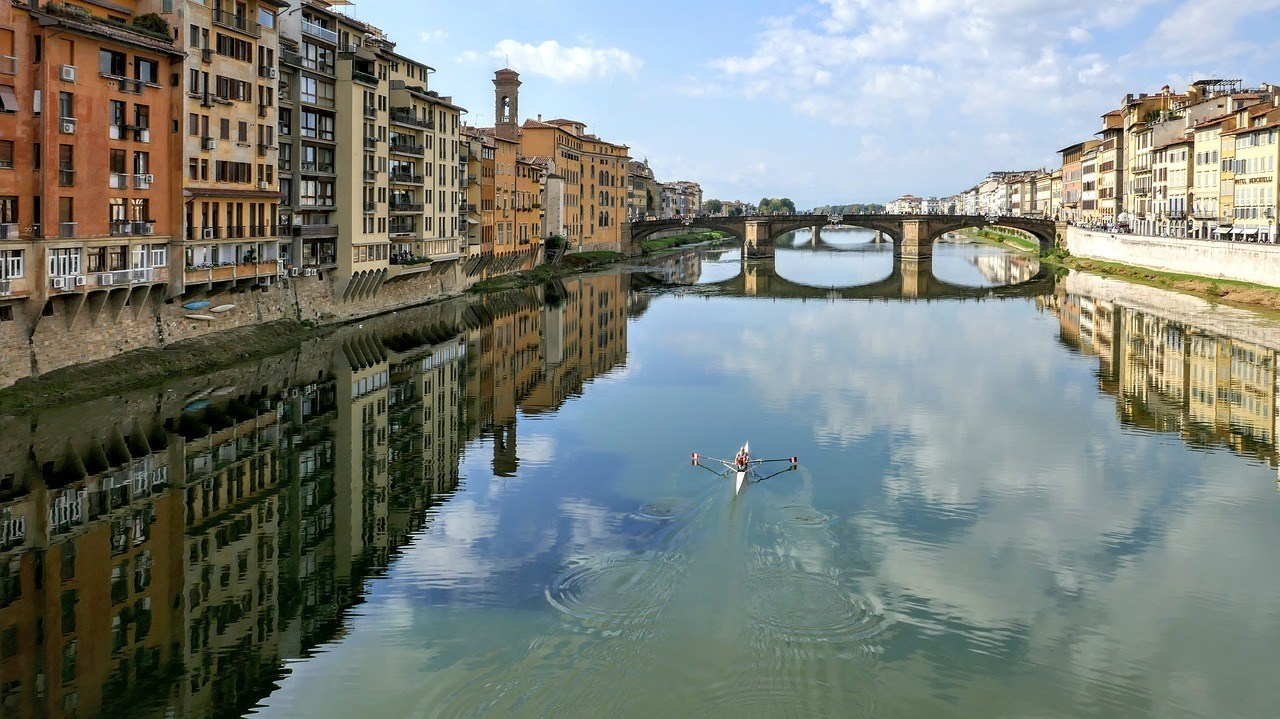 Paddle Down the Arno River