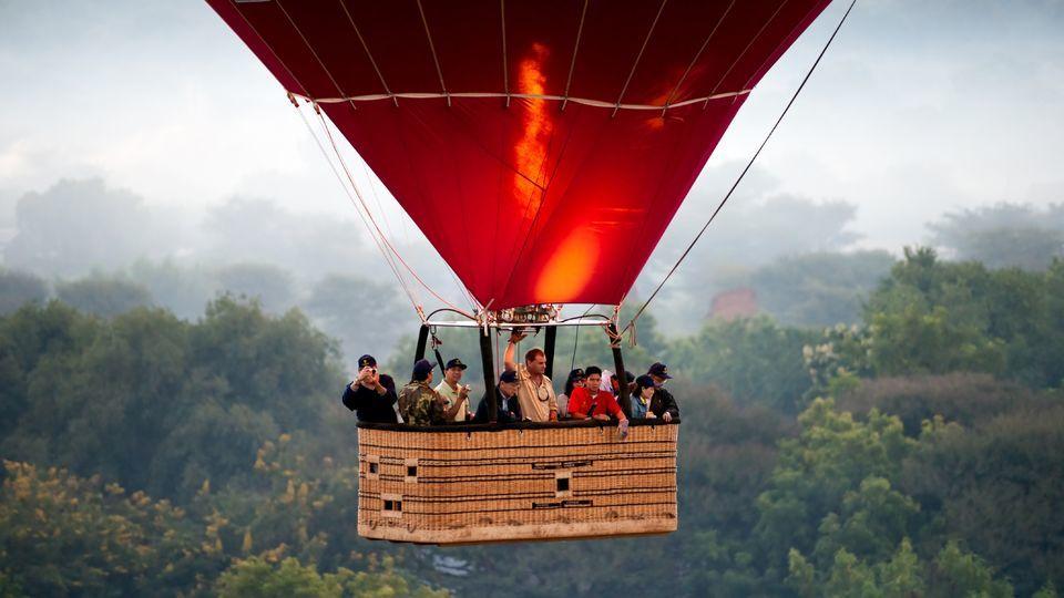 Segovia Hot Air Balloon Flight & Tour