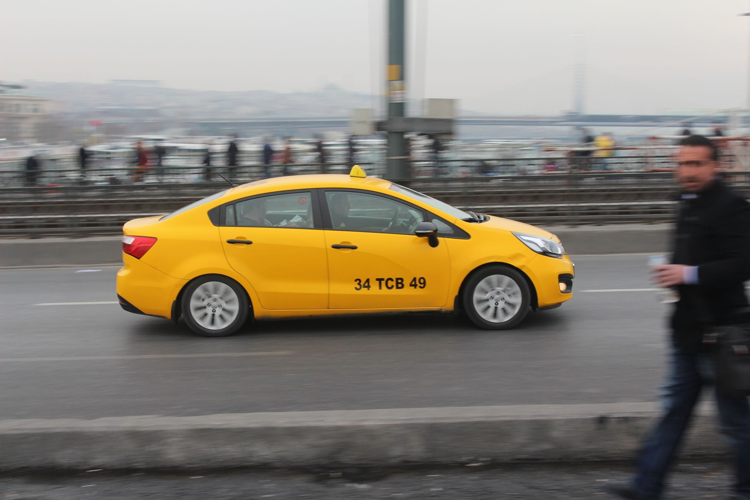 Taxis in Istanbul