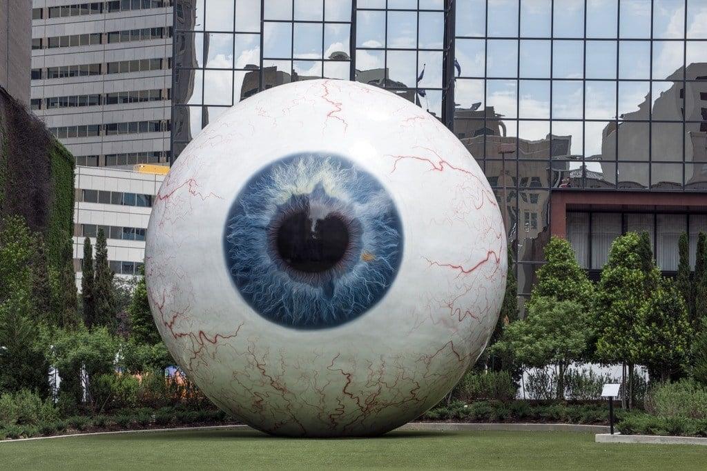 The 'Eye' Sculpture, Dallas