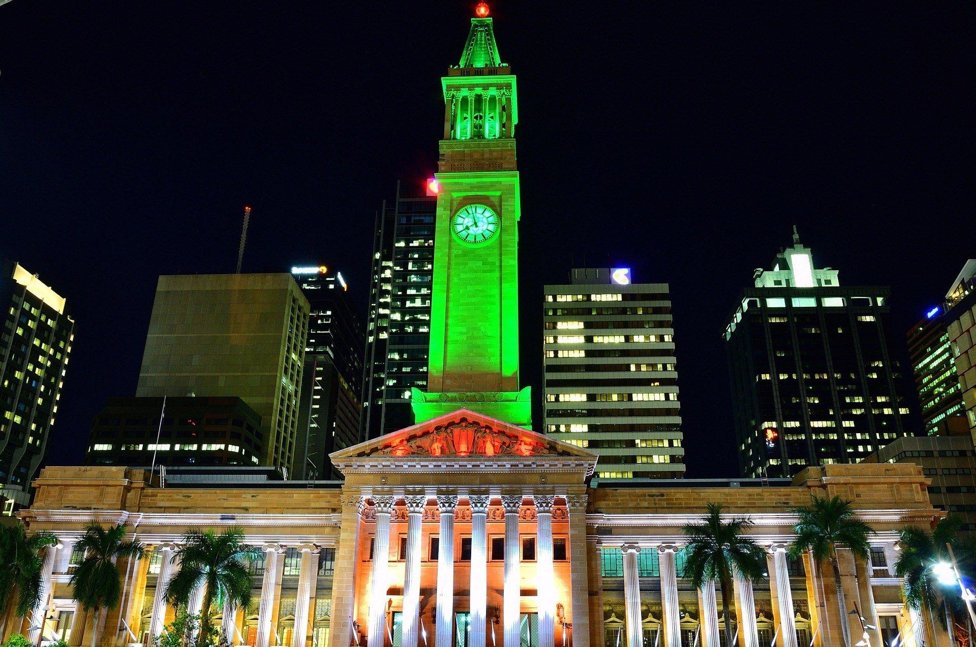 The CBD, Brisbane