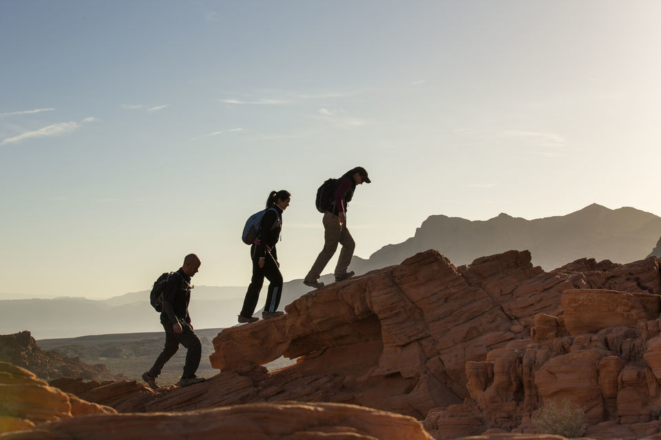 Valley of Fire Guided Hiking Tour