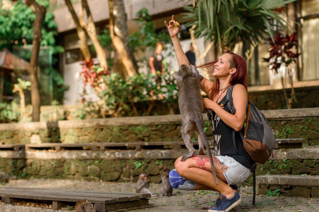 Walking in Bali