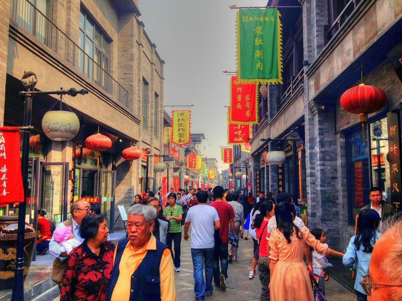 Walking in China