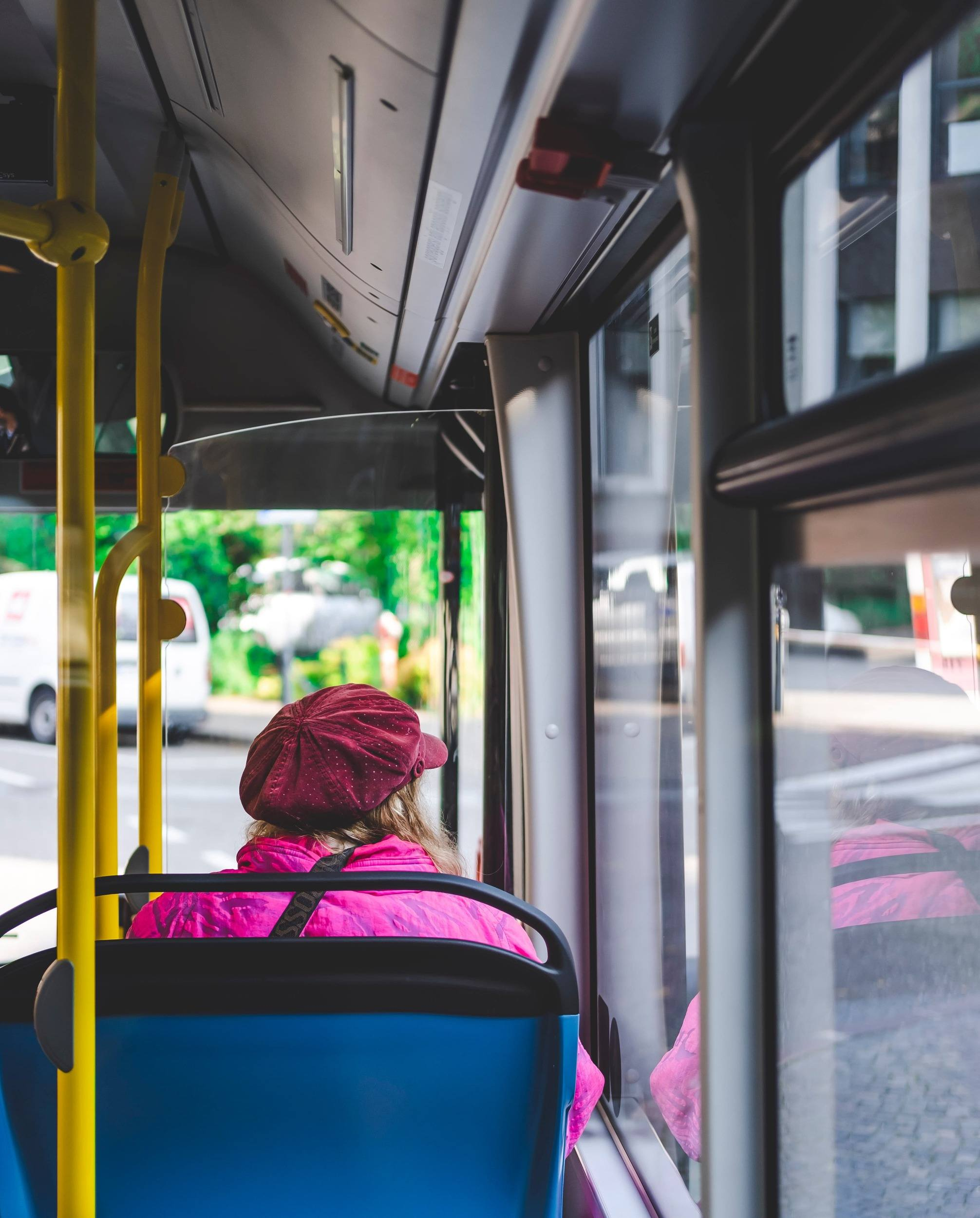 Girl on Tokyo Bus