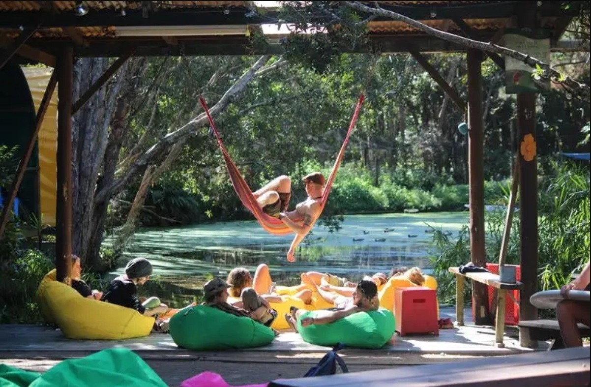 Overall best hostel in Byron Bay: The Arts Factory Lodge