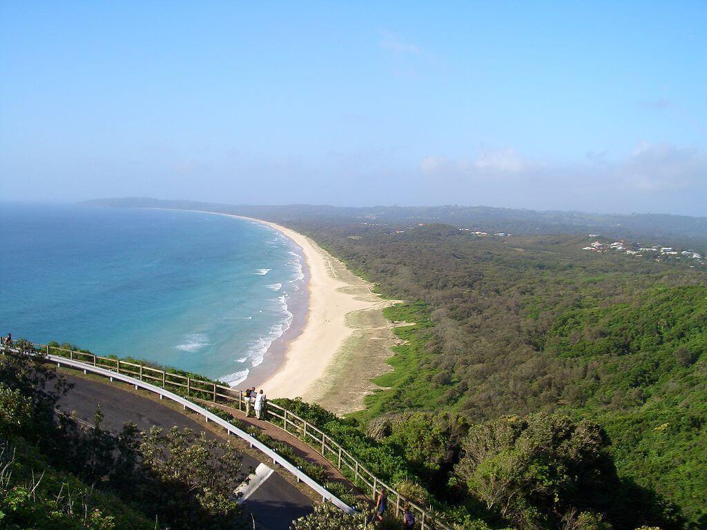 Tallows Beach in Byron Bay