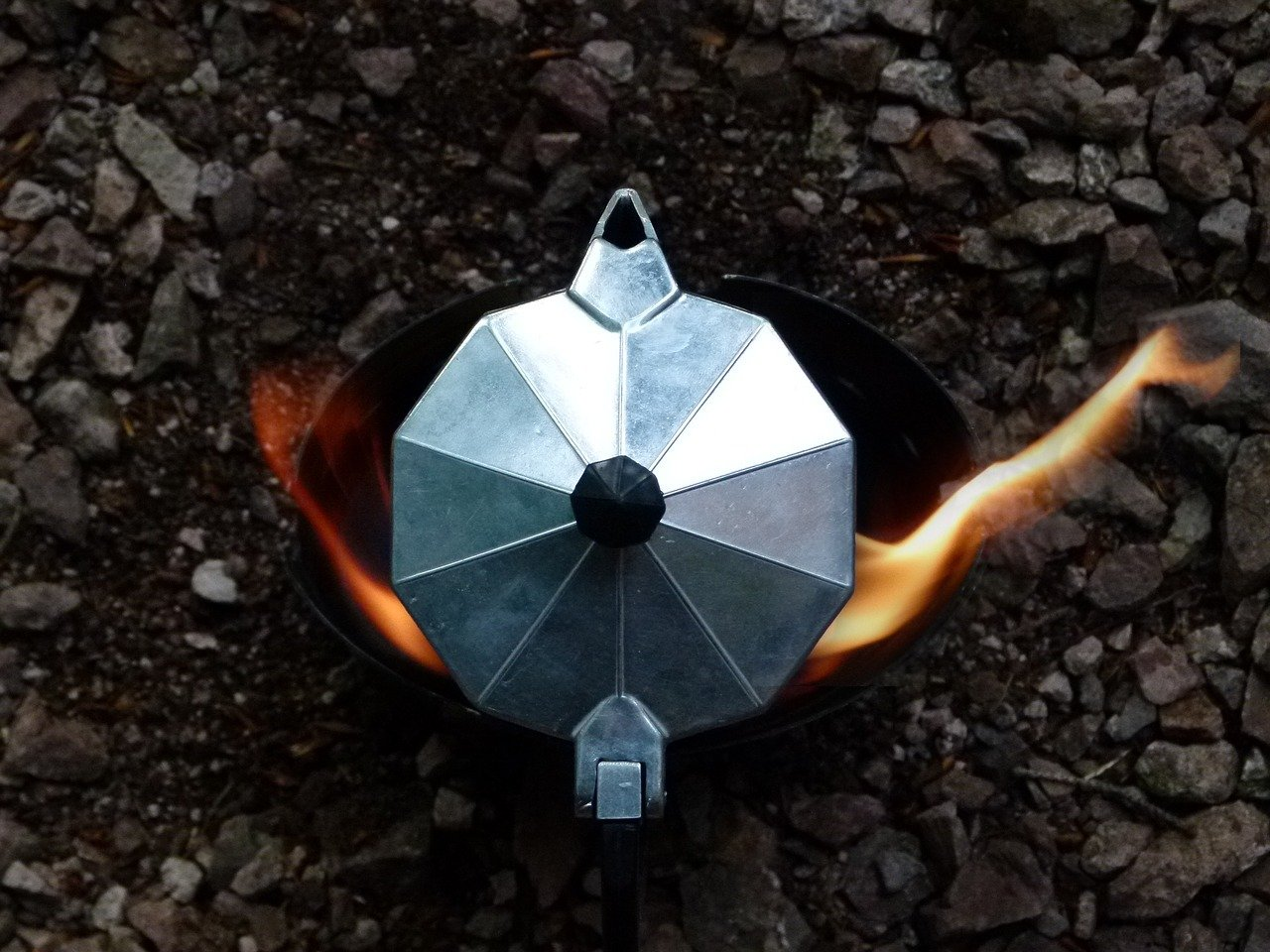 A coffee percolator is a camping essential for some
