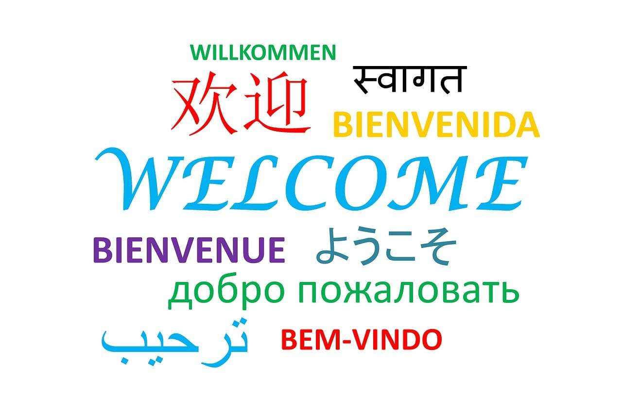 How to say welcome in different languages