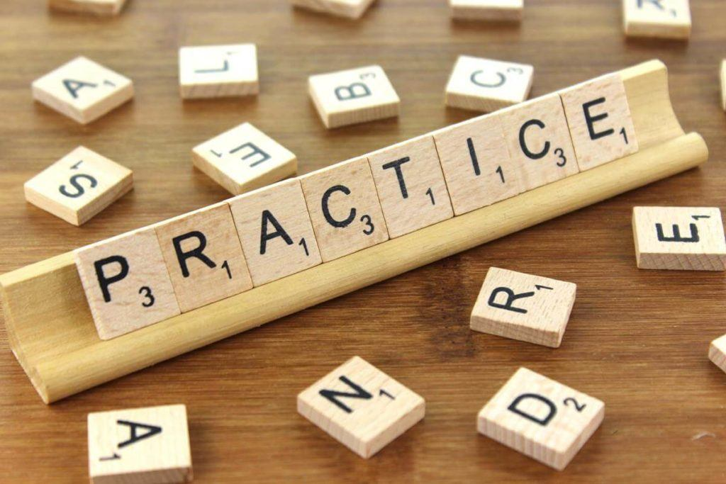 Practice is the one true best method to learn a new language
