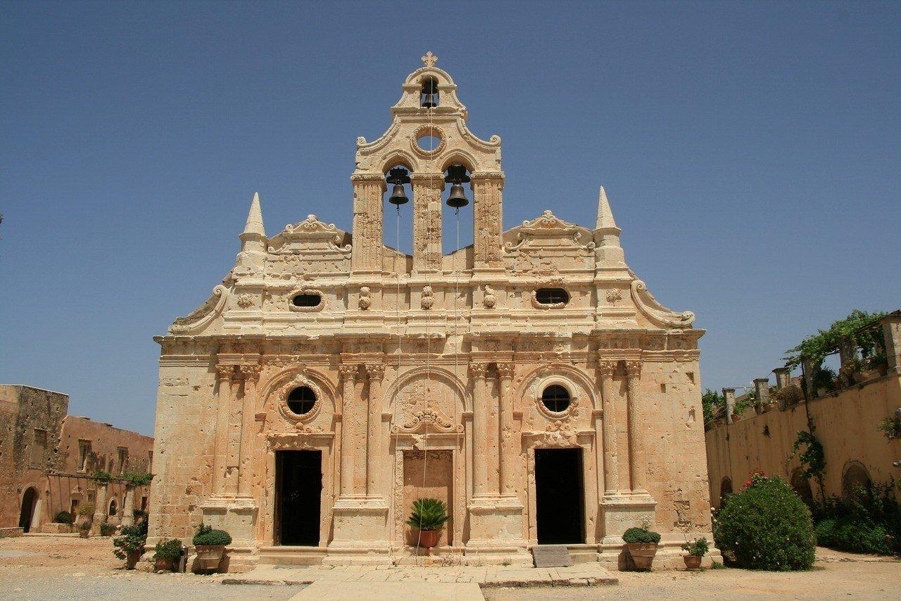 monastery - crete
