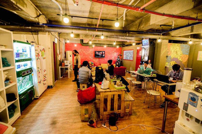 Best Cheap Hostel in Seoul: Kimchee Sinchon Guesthouse
