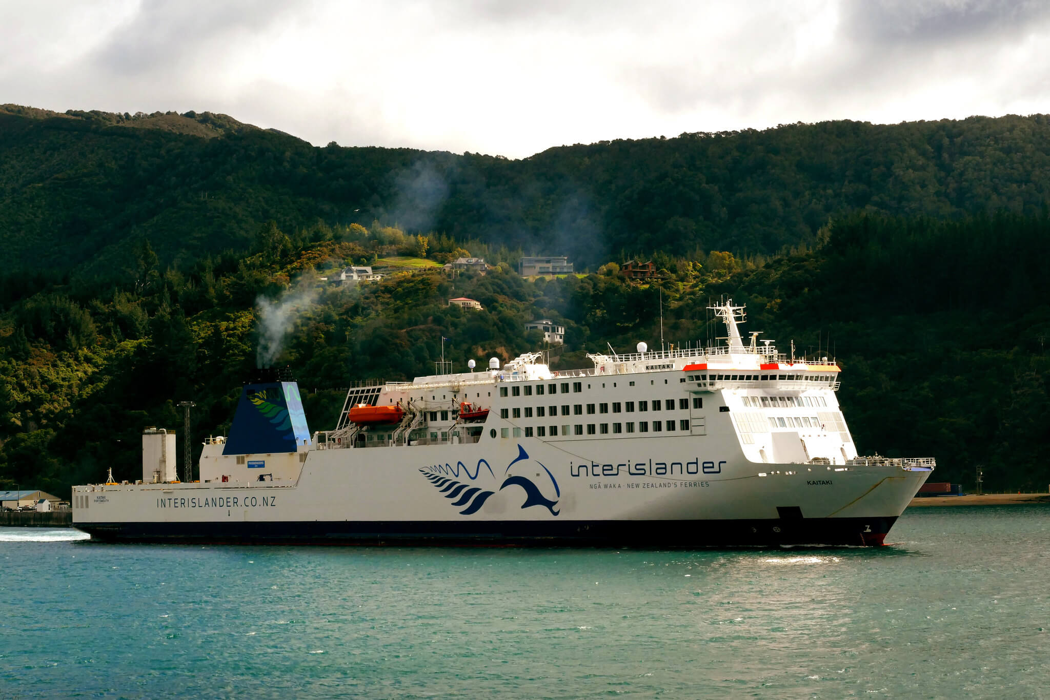 Wellington to Picton Ferry - a fun thing to do in New Zealand once